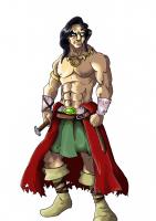 Dessin Conan Le Barbare de Flux