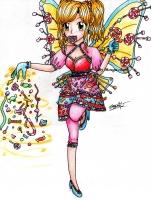 Dessin Candy cane Fairy de Mougachan