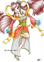 Dessin Drawing test 1 de Mougachan
