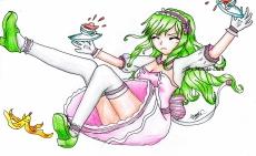 Dessin Maid café girl 1 de Mougachan