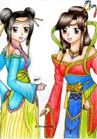 Dessin Princess China de Mougachan