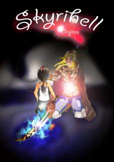 Dessin 1er de couverture Skyrihell de Skyrihell