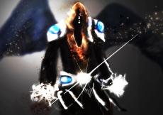 Dessin Ange noire 2 de Skyrihell