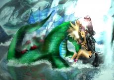 Dessin Leviathan de Skyrihell