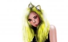 Dessin Catgirl de Skyrihell