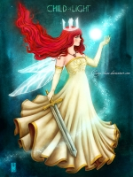 Dessin Child Of Light   Aurora de Clange