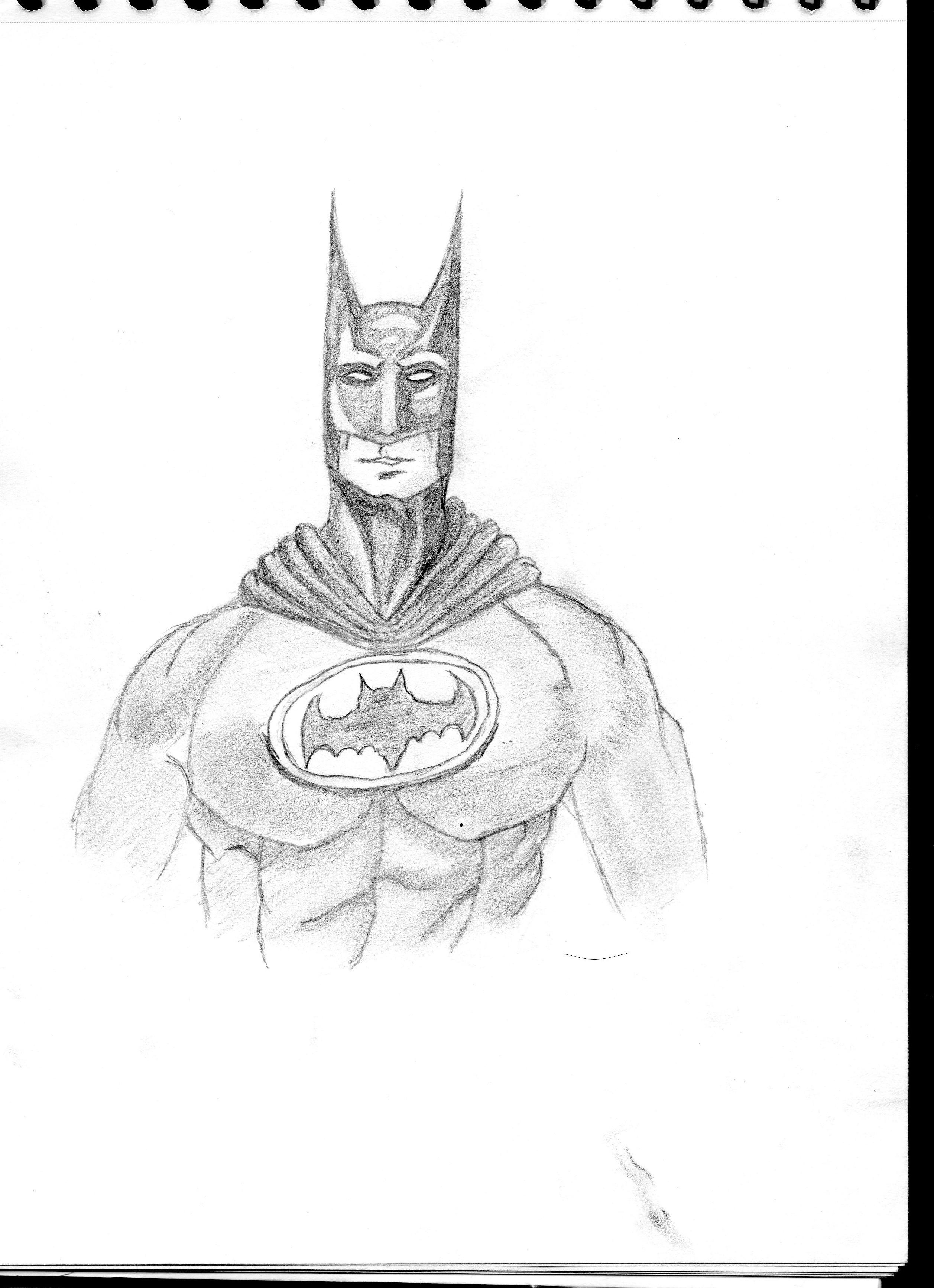 Dessin Batman de Maverick