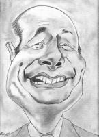Dessin Jacques Chirac de Louiz