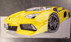 Dessin Lamborghini de Louiz