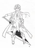 Dessin Mmmmh la grosse épée :x de ArekuRekku