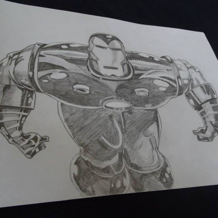 Dessin Iron man ! de FloppyDessine