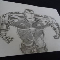 Dessin Iron man ! de FloppyDessine
