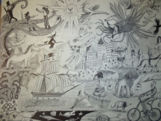 Dessin Inspiration dessin de mon fils de Tavar