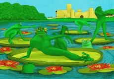 Dessin Les grenouilles de Tavar