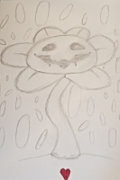 Dessin Flowey the flower de Yuryehu