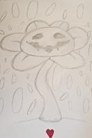 Dessin Flowey the flower de Yuryehu
