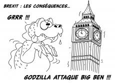 Dessin Brexit : les conséquences... de Chag