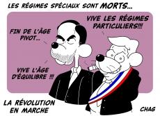 Dessin La révolution en France de Chag