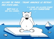 Dessin Les accords de Paris de Chag