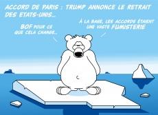 Dessin Les accords de Paris de Chag