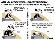 Dessin Une question de communication... de Chag