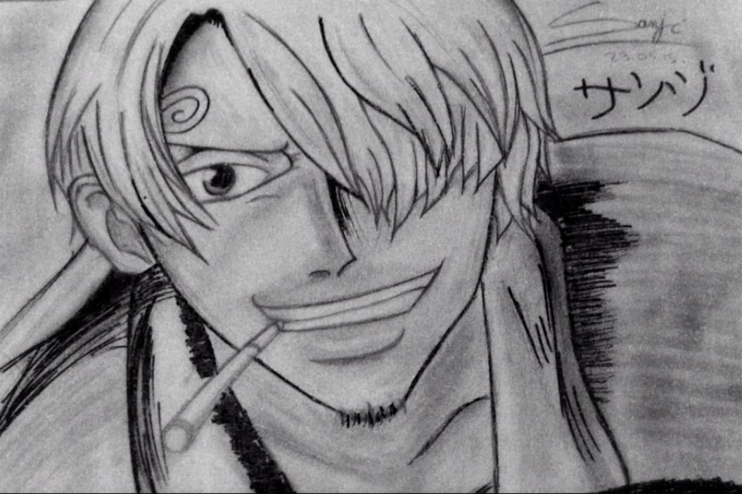 Dessin one piece sanji - Zoro one piece dessin ...