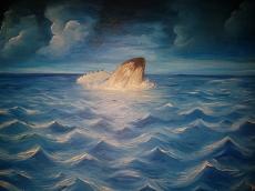 Dessin Au large de l'île de la Reunion de YANN974