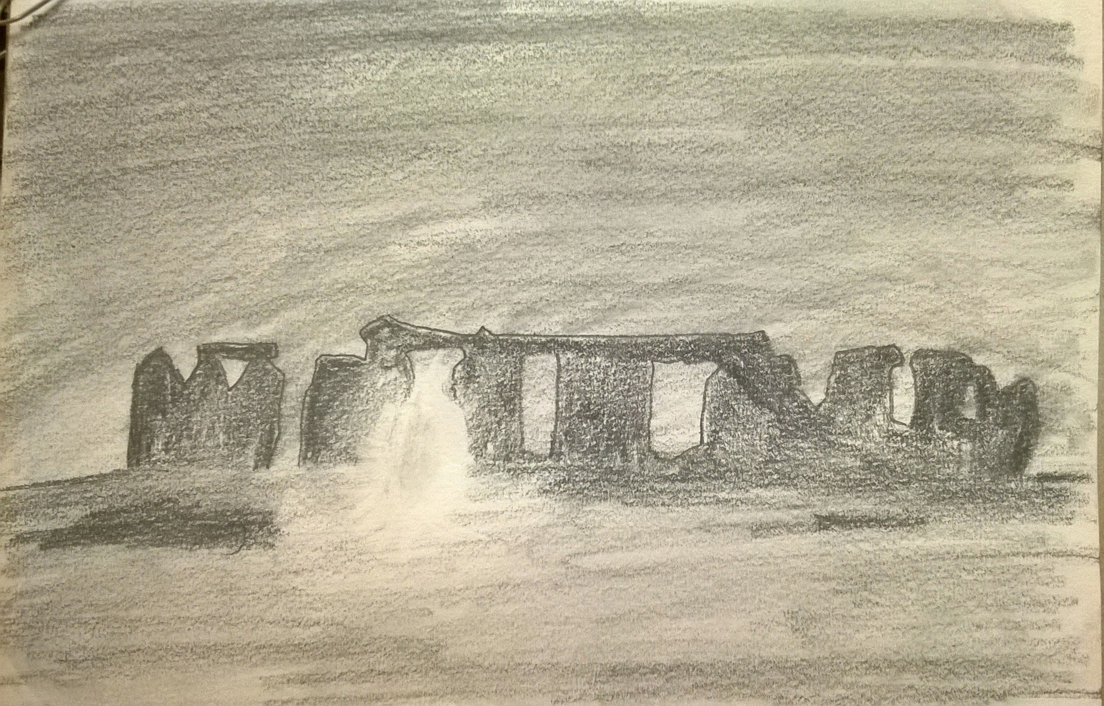 Dessin Stonehenge de Claude16