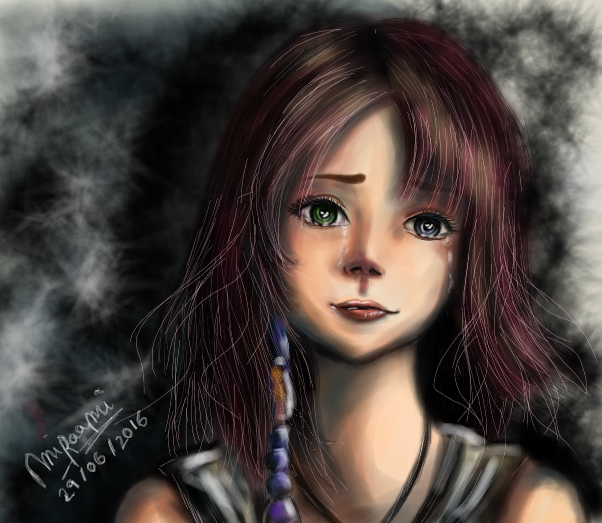 Dessin Sadness de Miraami