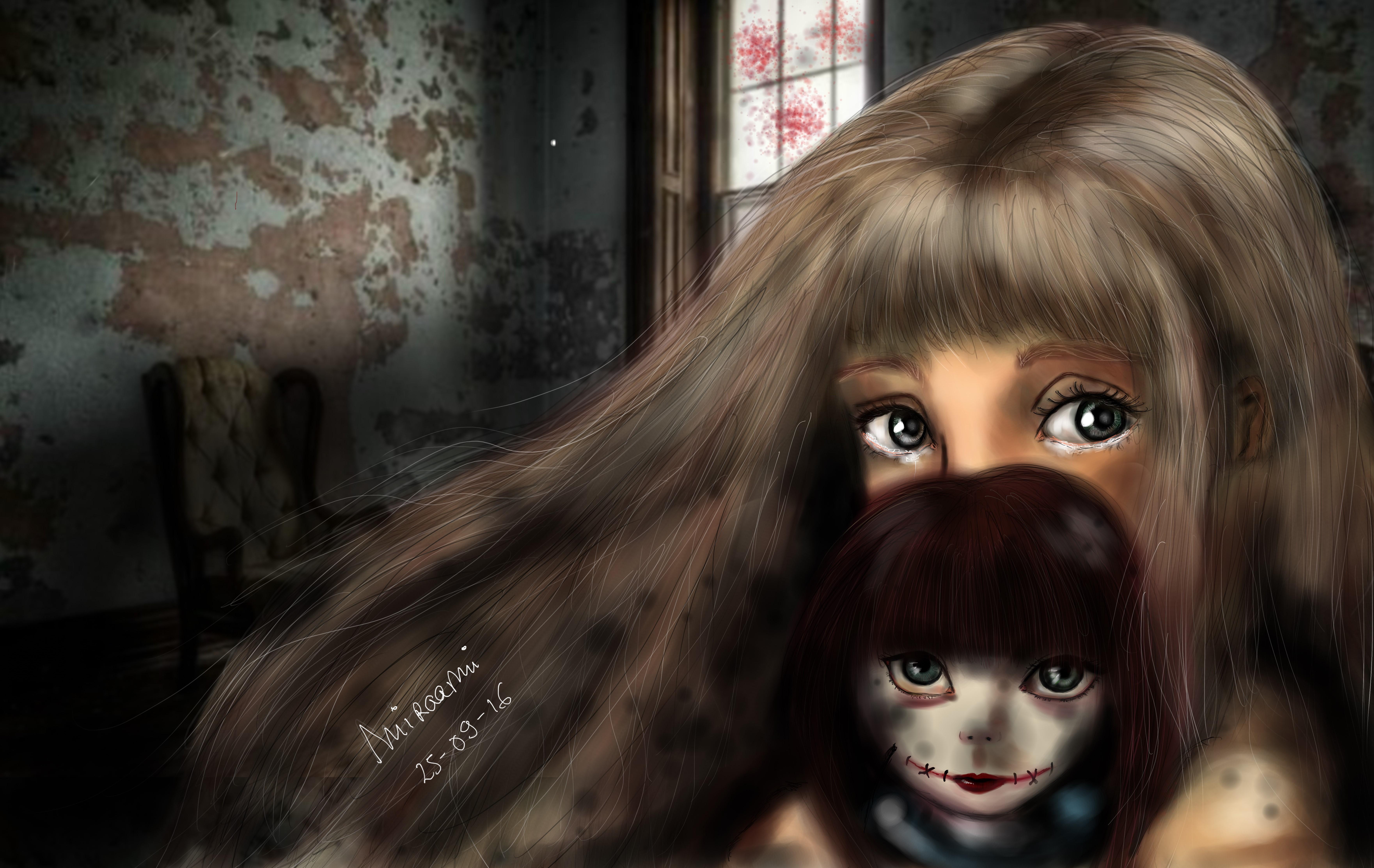 Dessin The doll de Miraami