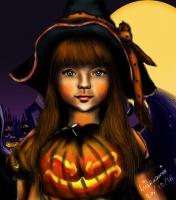 Dessin Halloween 2016 de Miraami