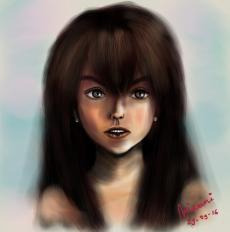 Dessin Portrait de Miraami