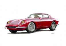 Dessin Ferrari 275 GT de AnthonyC