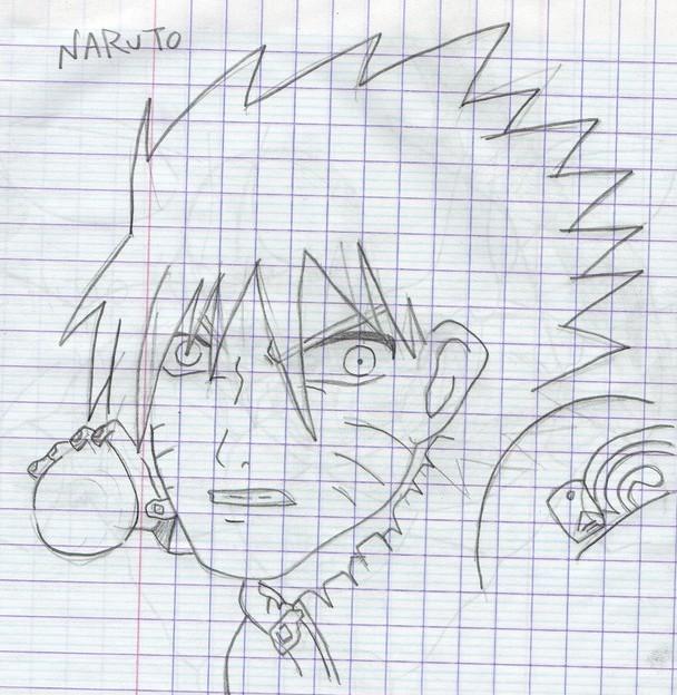 Dessin Naruto fais a crayon de Dilaw