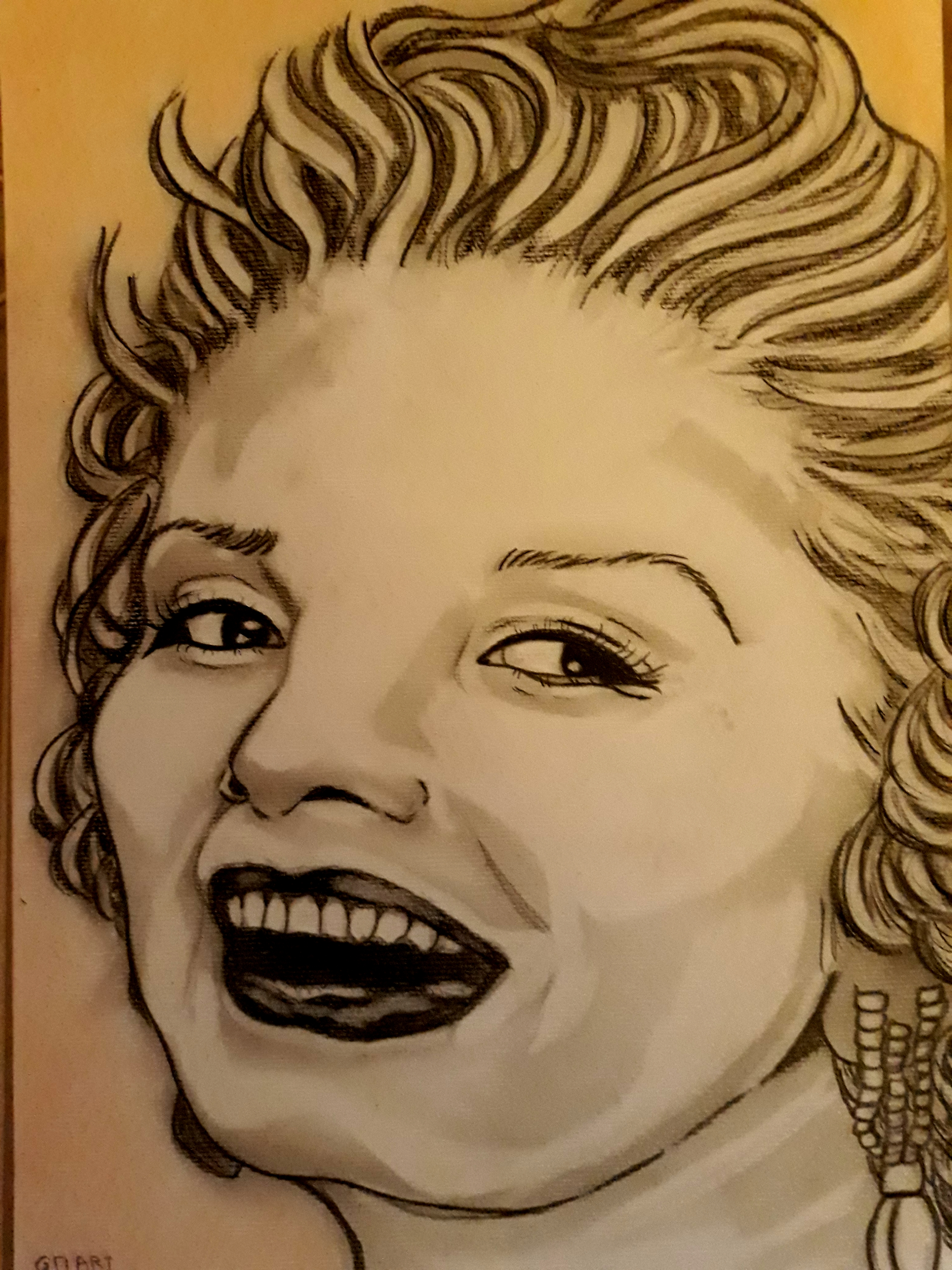 Dessin Marilyne monroe de Princesserosia