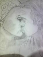 Dessin Deux amoureux de Princesserosia