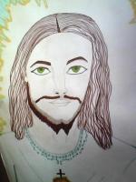 Dessin Jesus christ de Princesserosia