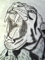 Dessin Portrait felin de Princesserosia