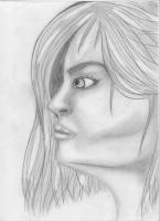 Dessin Portrait femme de Princesserosia