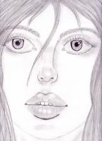 Dessin Portrait réaliste de Princesserosia