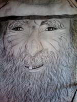 Dessin Portrait vieil homme de Princesserosia