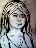 Dessin Portrait de Princesserosia