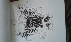 Dessin Hibou puzzle de FioArt