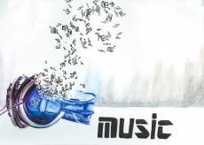 Dessin Couverture pour la musique de Musashi