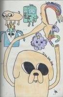 Dessin It's Adventure Time! de Pykanchan