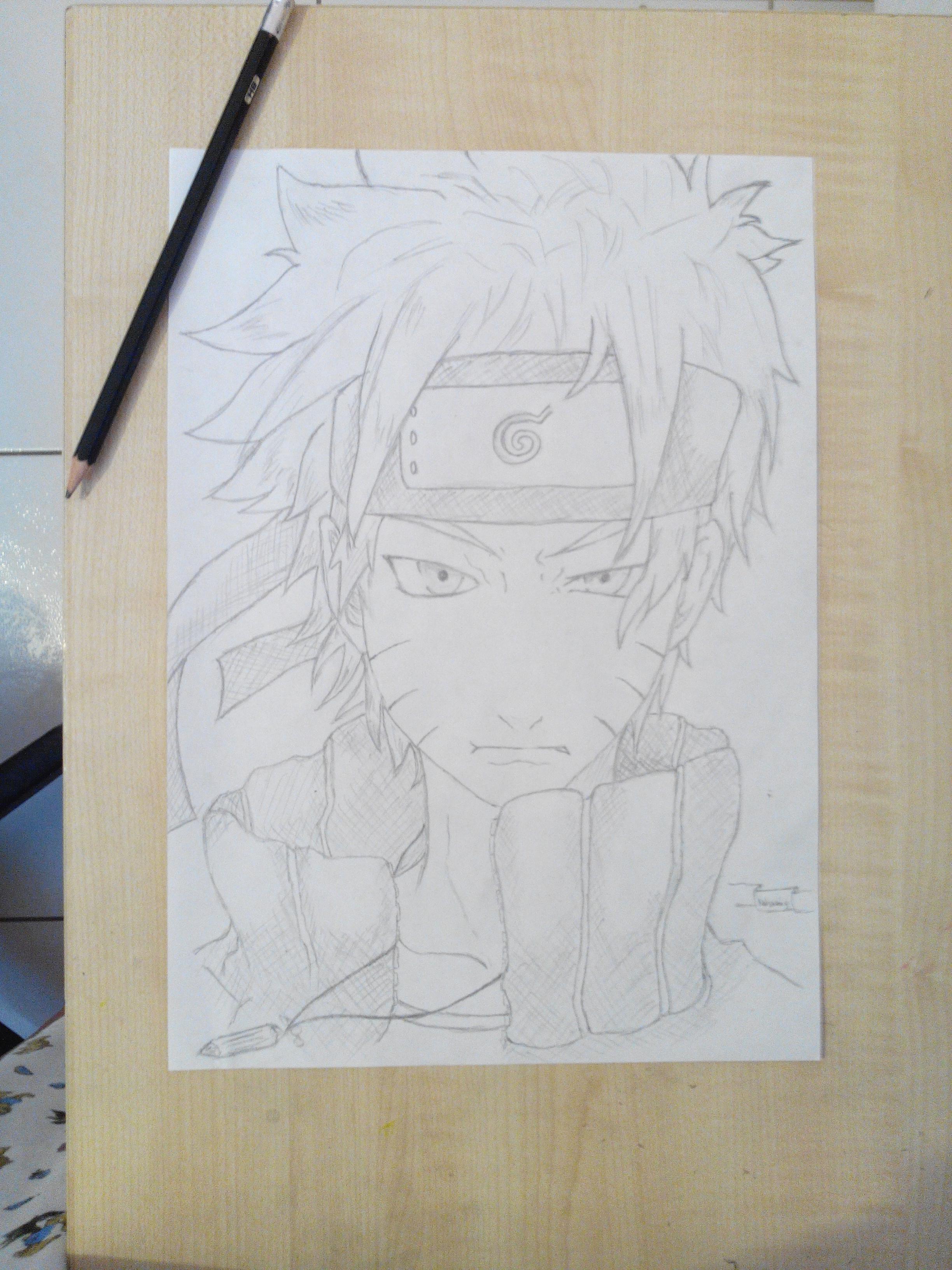 Dessin Naruto Shippuden Pencildrawing Fr