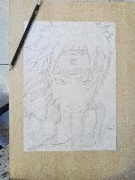Dessin Naruto shippuden de Natsumi