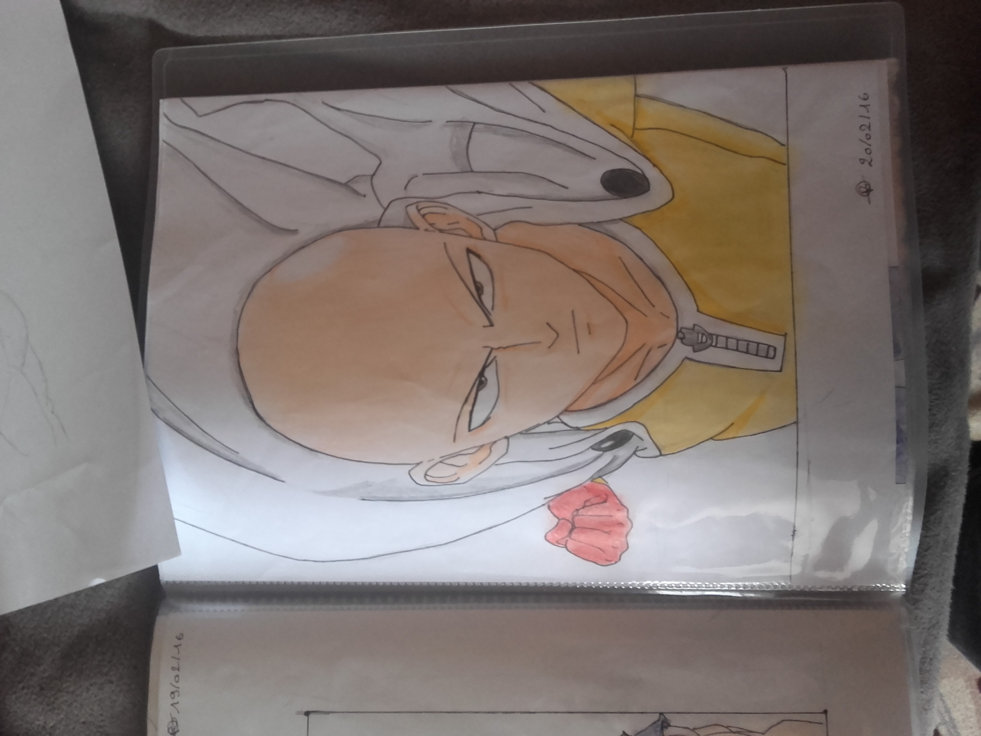 Dessin Saitama de Nay_art