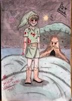Dessin Ben Drowned de BridaKagamiku