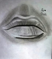 Dessin Bouche Réaliste de BridaKagamiku